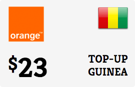 $23.00 Orange Guinea-Conakry Prepaid Wireless Top-Up