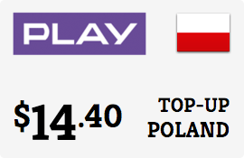 $14.40 Play Poland Prepaid Wireless Top-Up