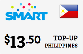 $14.60 Smart Philippines Prepaid Wireless Top-Up