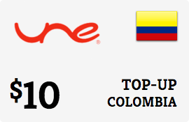 $10.00 UNE Colombia Prepaid Wireless Top-Up