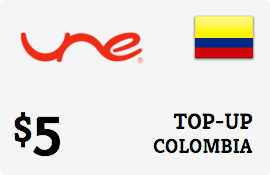 $5.00 UNE Colombia Prepaid Wireless Top-Up