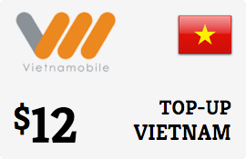 $12.00 Vietnammobile Vietnam  Prepaid Wireless Top-Up