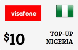 $10.00 Visafone Nigeria Prepaid Wireless Top-Up