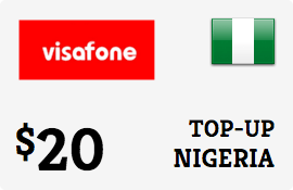 $20.00 Visafone Nigeria Prepaid Wireless Top-Up