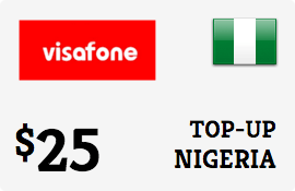 $25.00 Visafone Nigeria Prepaid Wireless Top-Up