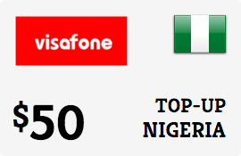 $50.00 Visafone Nigeria Prepaid Wireless Top-Up