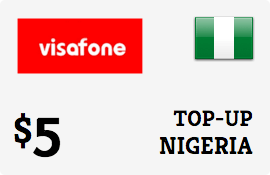 $5.00 Visafone Nigeria Prepaid Wireless Top-Up