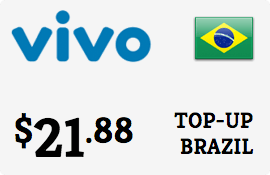$21.88 Vivo Brazil Prepaid Wireless Top-Up