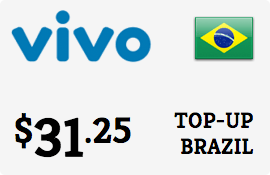 $31.25 Vivo Brazil Prepaid Wireless Top-Up