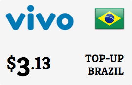 $3.13 Vivo Brazil Prepaid Wireless Top-Up