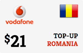 $21.00 Vodafone Romania Prepaid Wireless Top-Up