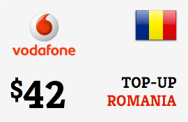 $42.00 Vodafone Romania Prepaid Wireless Top-Up