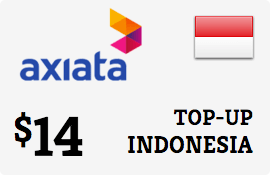 $14.00 XL Axiata Indonesia Prepaid Wireless Top-Up