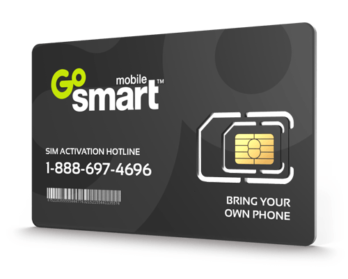 GoSmart Mobile<sup>®</sup> Prepaid Wireless SIM Cards