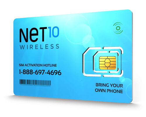 Net10<sup>&reg;</sup> Prepaid Wireless SIM Cards