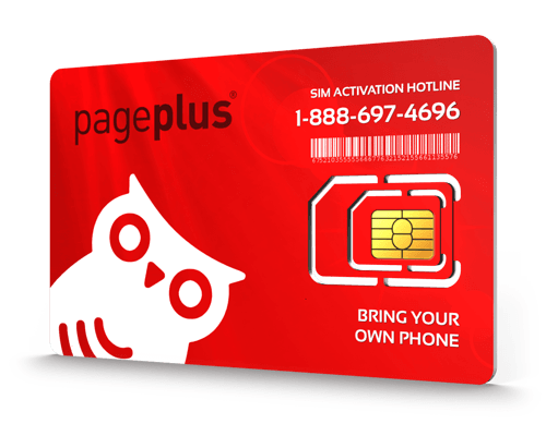 Page Plus<sup>®</sup> Prepaid Wireless SIM Cards