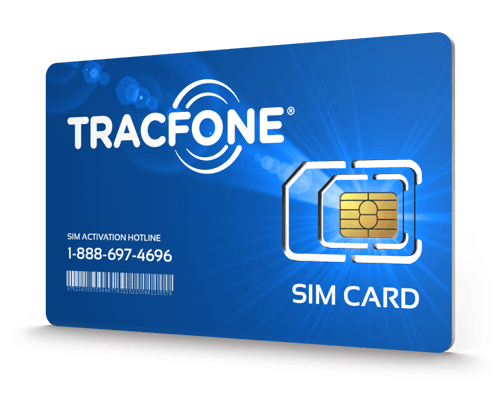 Tracfone Wireless<sup>&reg;</sup> Prepaid Wireless SIM Cards