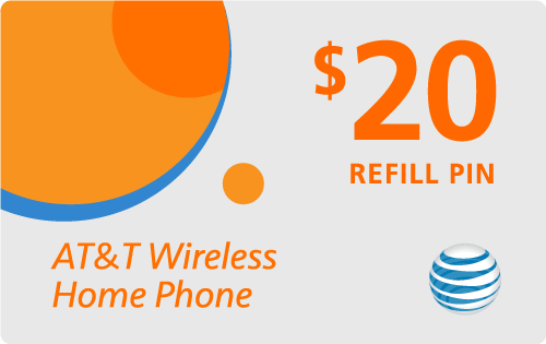 $14.95 AT&T Go Phone® Refill Minutes Instant Prepaid Airtime