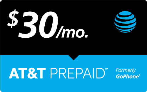 $29.97 AT&T PREPAID℠ Real Time Refill Minutes