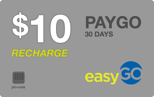 $9.79 EasyGo Wireless® Refill Minutes Instant Prepaid Airtime