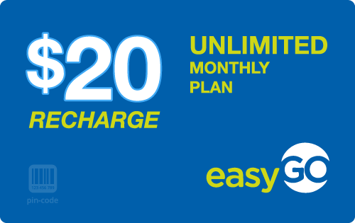 $19.79 EasyGo Wireless® Refill Minutes Instant Prepaid Airtime