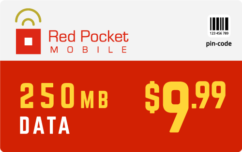 Buy the $9.99 Red Pocket® Refill Minutes Instant Prepaid Airtime | On SALE for Only $9.94