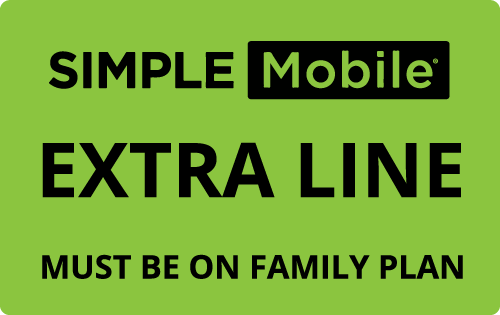 $25.00 Simple Mobile® Real Time Refill Minutes