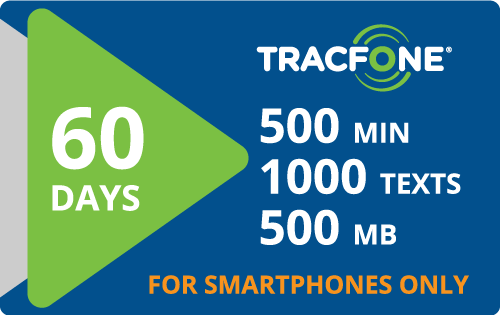 $25.00 Tracfone® Refill Minutes Instant Prepaid Airtime