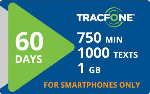 $35.00 Tracfone® Refill Minutes Instant Prepaid Airtime