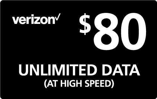 $79.39 Verizon Wireless® Real Time Refill Minutes